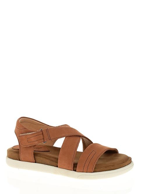 Greyder %100 Deri Sandalet Taba